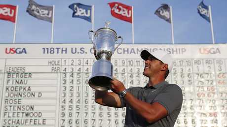 Brooks Koepka has won the last two US Open titles.