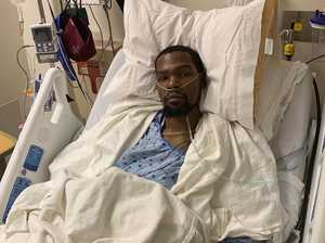 'Easy money': Durant's stirring hospital update