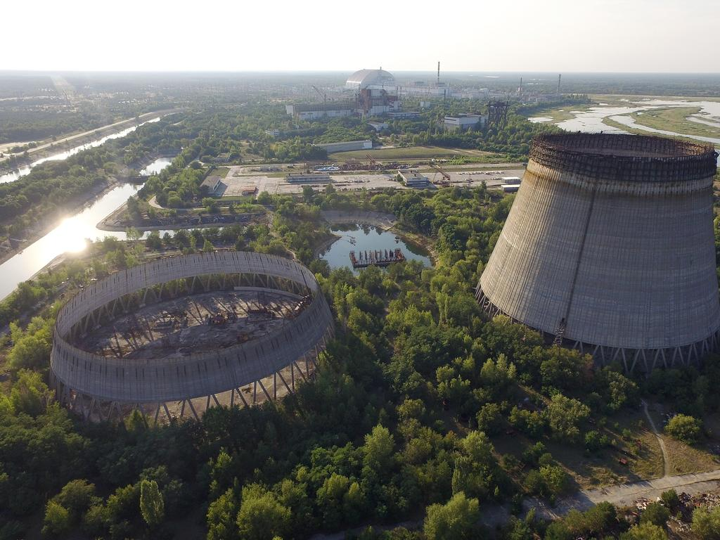 The Chernobyl nuclear power plant, where the 1986 disaster killed dozens and poisoned thousands, is now a tourist destination made popular by Instagram. Picture: Getty Images