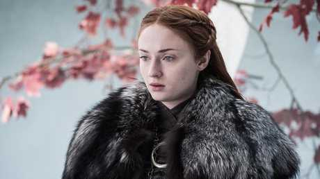 The actress as Sansa Stark. Picture: Supplied