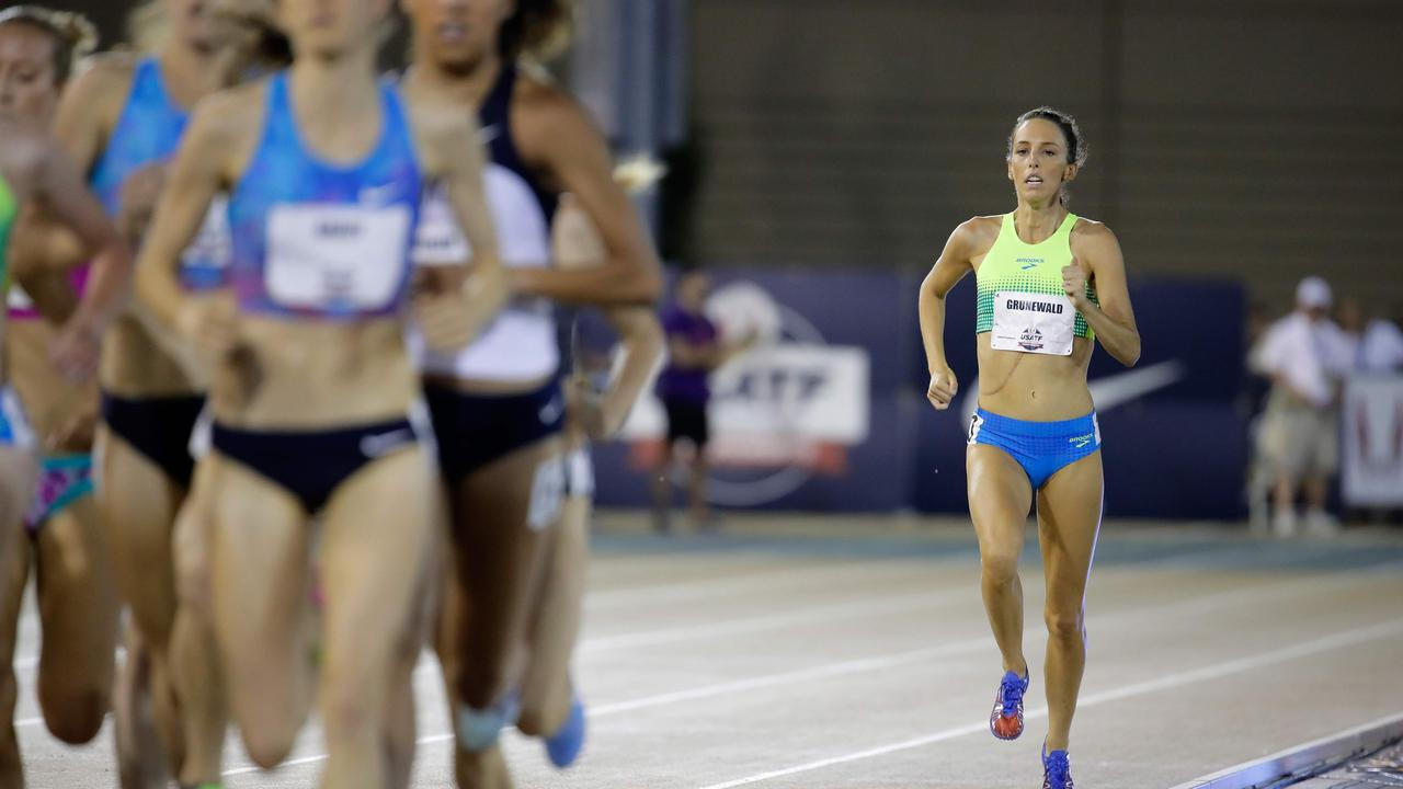 Gabriele Grunewald battled cancer for a decade. Picture: Andy Lyons/Getty