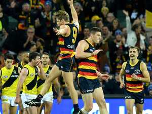 Injury-hit Adelaide soars into top four