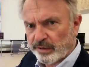 'Disgraceful': Sam Neill slams airport
