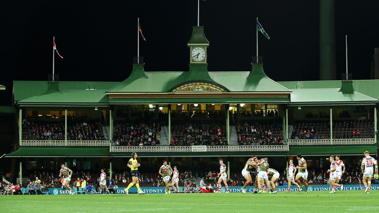The SCG is a polarising venue for rugby league. Photo by Mark Kolbe/Getty Images.