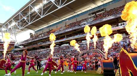 Suncorp Stadium is a favourite with footy fans. (Photo by Jono Searle/Getty Images)
