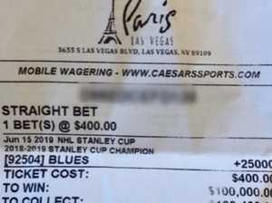 Crazy winning bet on 53-year fairytale