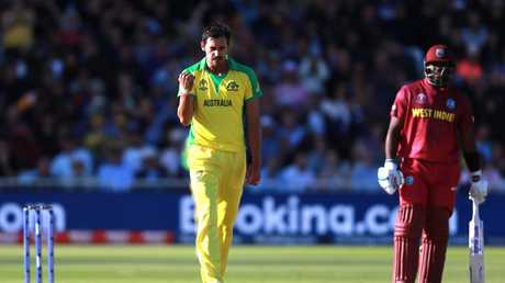 Mitchell Starc has delivered for his skipper to save two matches. Picture: Getty