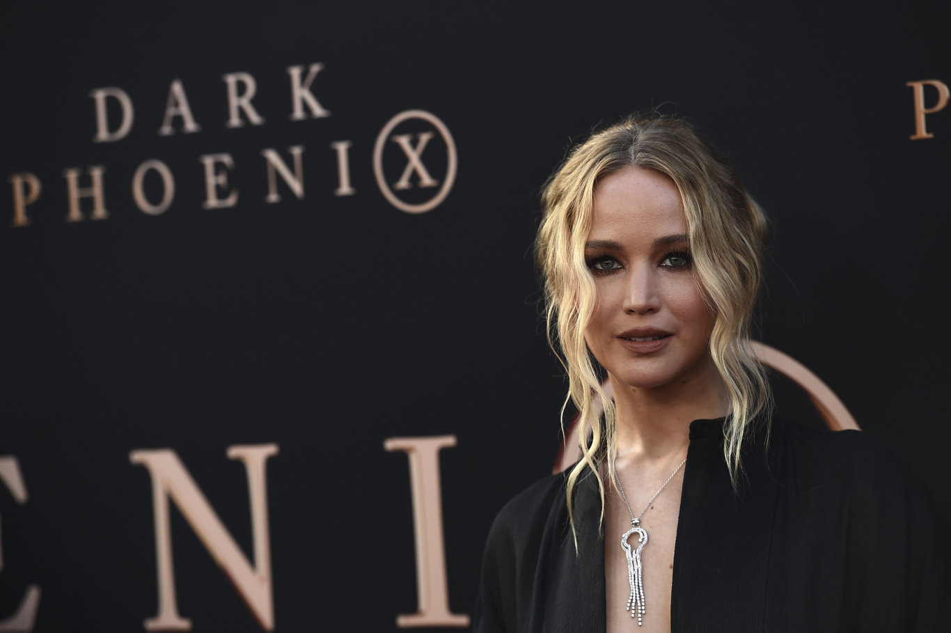 Jennifer Lawrence at the Los Angeles premiere of Dark Phoenix.