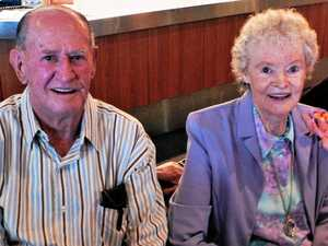 Wartime marriage lasts 75 years