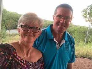 Mackay couple treks 1500km to volunteer at iconic festival