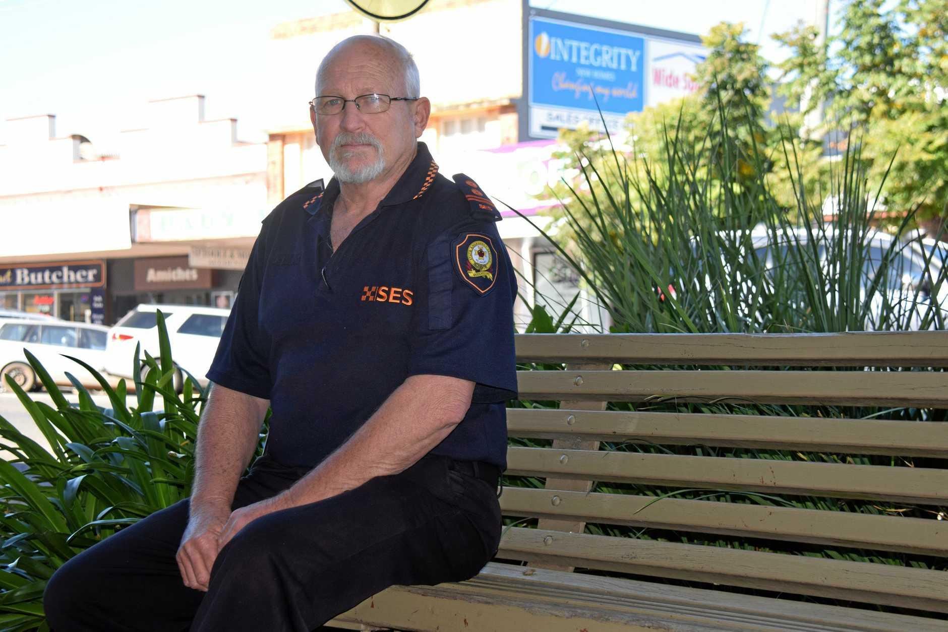 HELP IS NEEDED: South Burnett SES Local Area Controller Arthur Dawson.