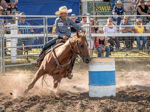 Barrel racers vie for gold buckle this weekend