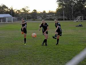 Gladstone girls show soccer class in schools' championship