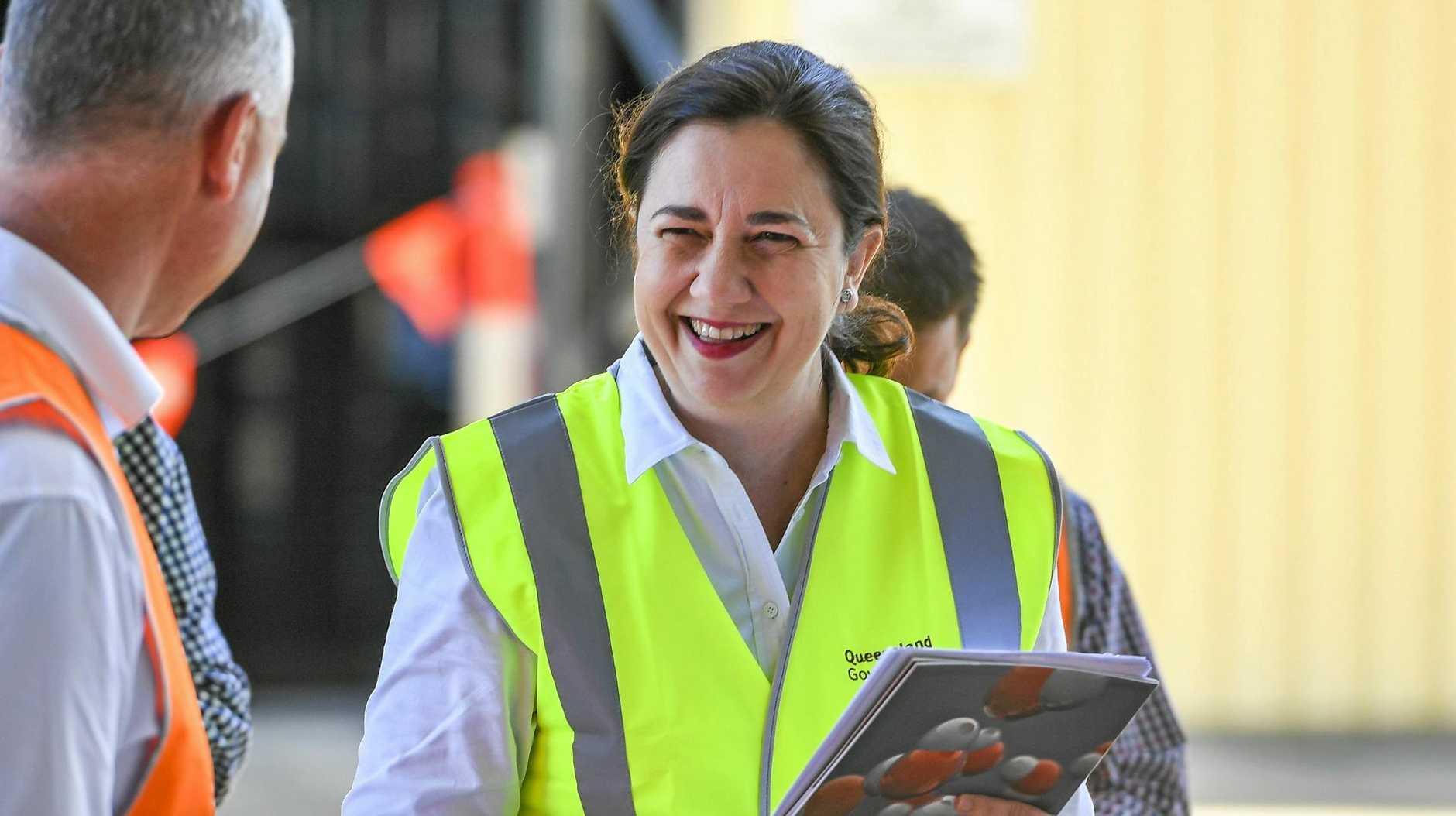 Queensland Premier Annastacia Palaszczuk will be in Rockhampton today.