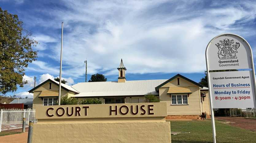 Gayndah Court  House.