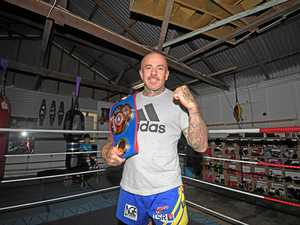 Gympie boxer becomes a double weight champion