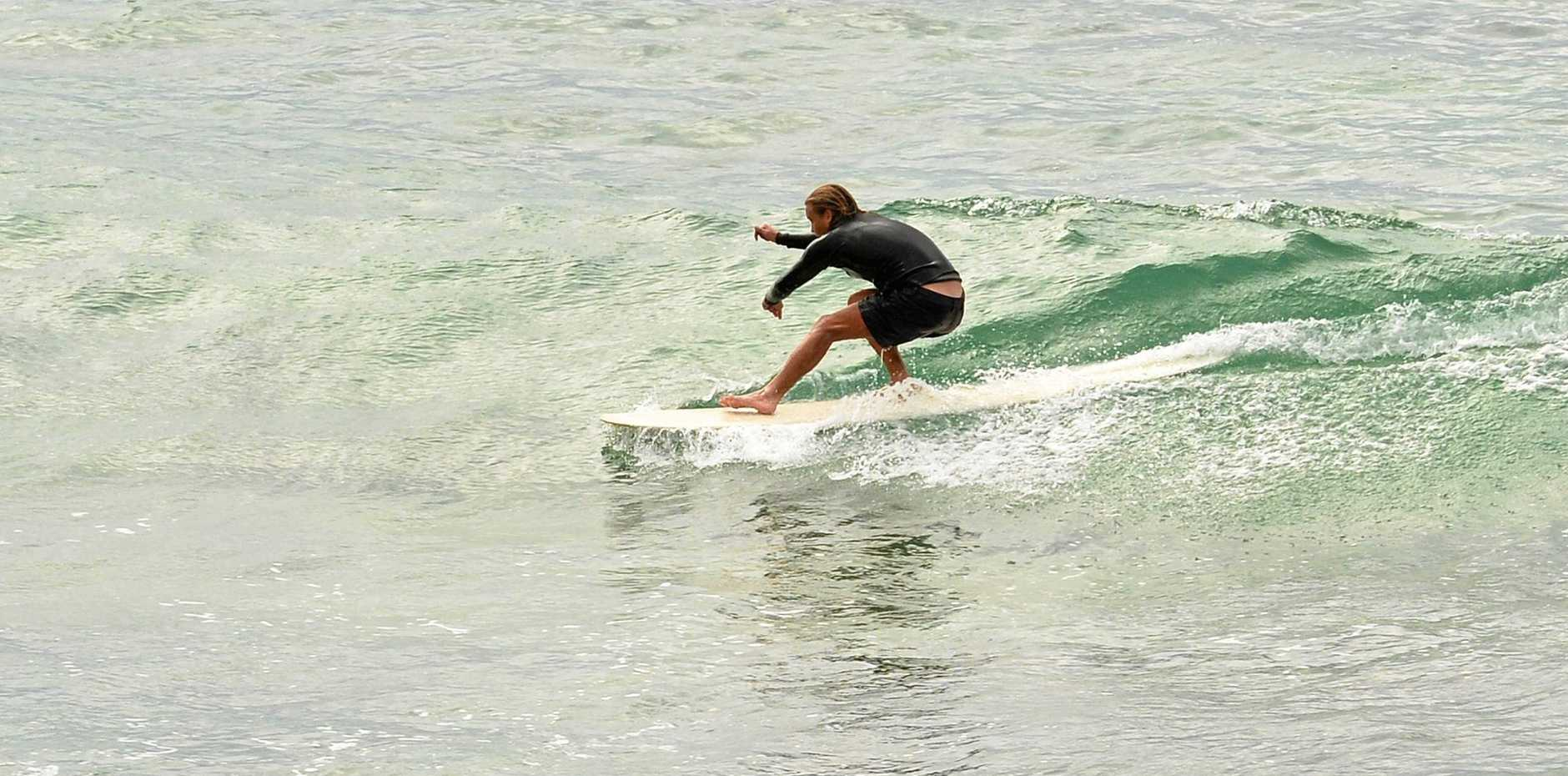 It's going to be a struggle to find a wave worth surfing on the Sunshine Coast this weekend.