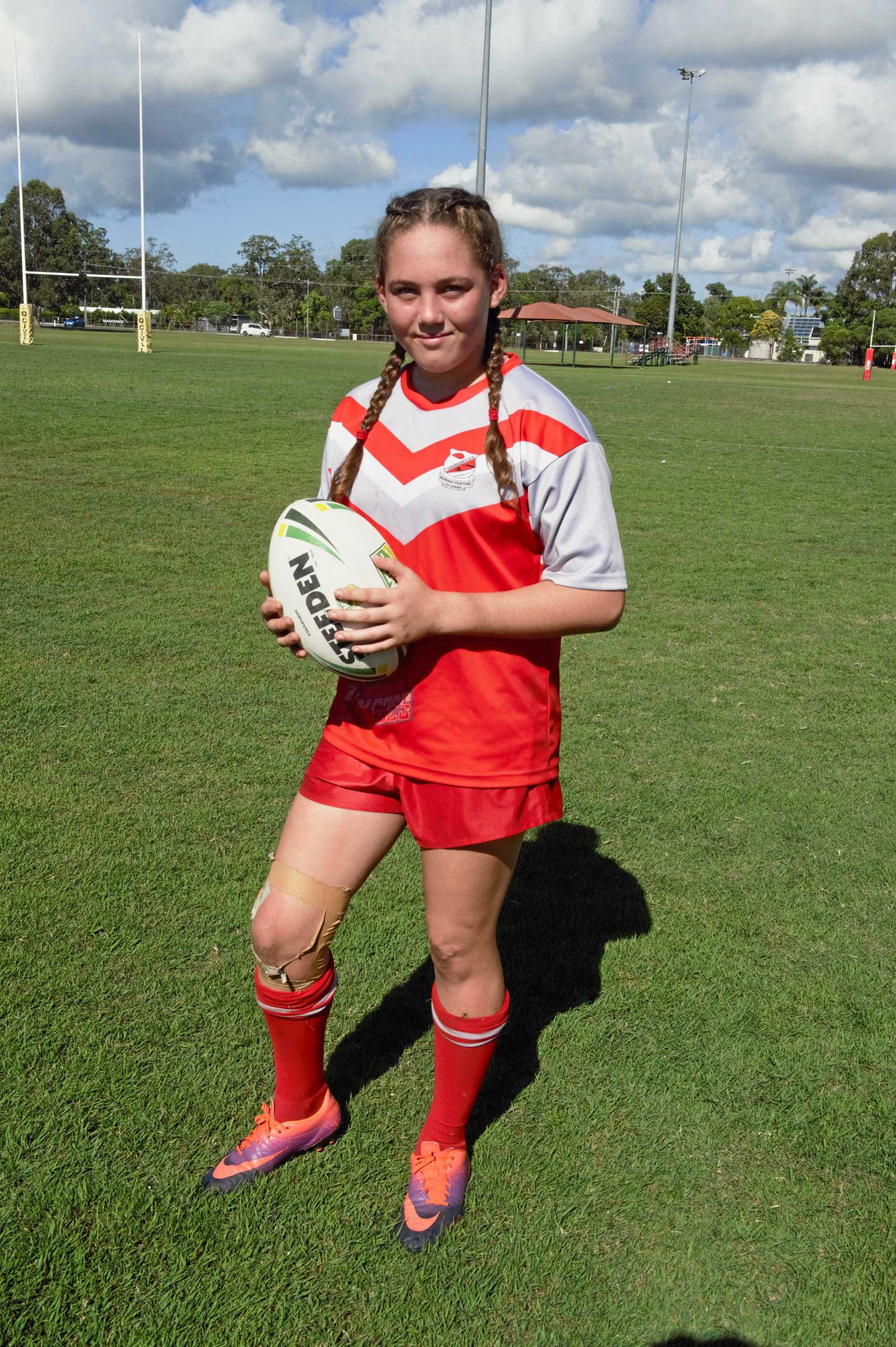 READY TO PLAY: Erin Guy looking forward to the Karyn Murphy Cup.