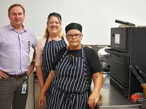 Cafe refurbished to dress up health facilities
