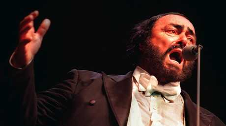 The opera singer had a legendary talent — and appetite. Picture: Angelo Soulas.