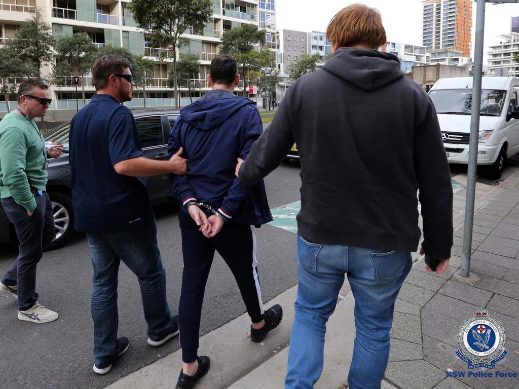 Her partner Martin Rose was also arrested by police. Picture: NSW Police