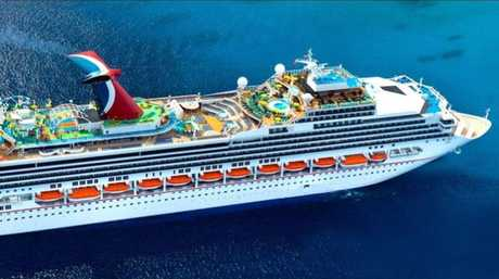 The man's family claims crew on the Carnival Sunshine refused to let him off the ship to seek medical help before he died. Picture: Carnival