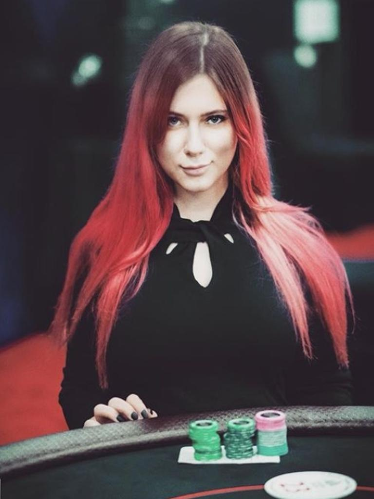 Her good looks have meant she was know as Russia's 'sexiest' poker player. Picture: East2West News