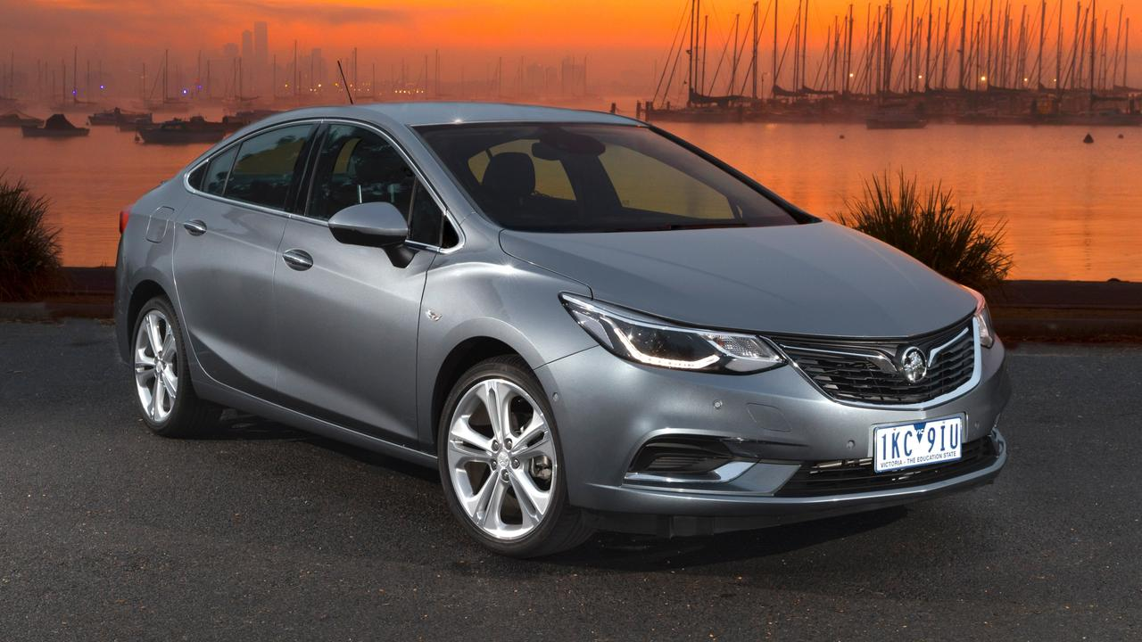The Holden Astra sedan is a bargain at $22,990 drive away.