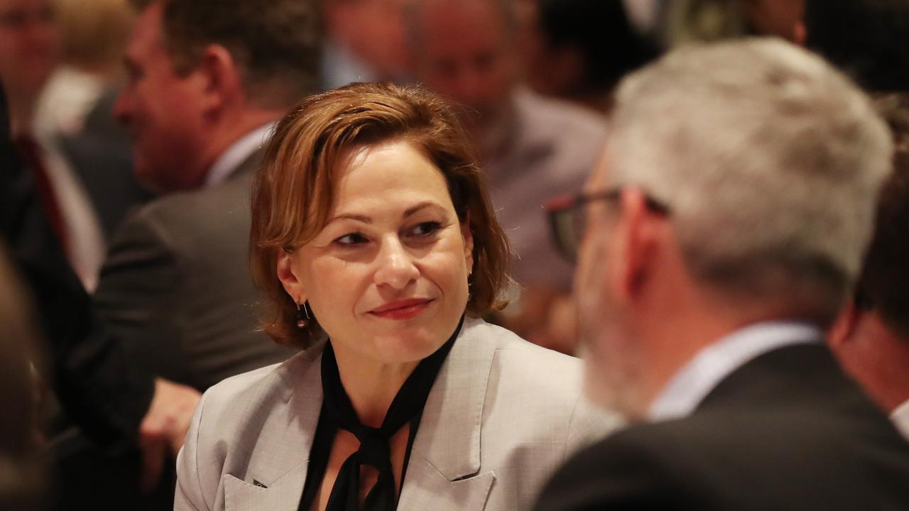 Queensland Treasurer Jackie Trad announced a new voluntary resources infrastructure fund last month. Picture: Annette Dew