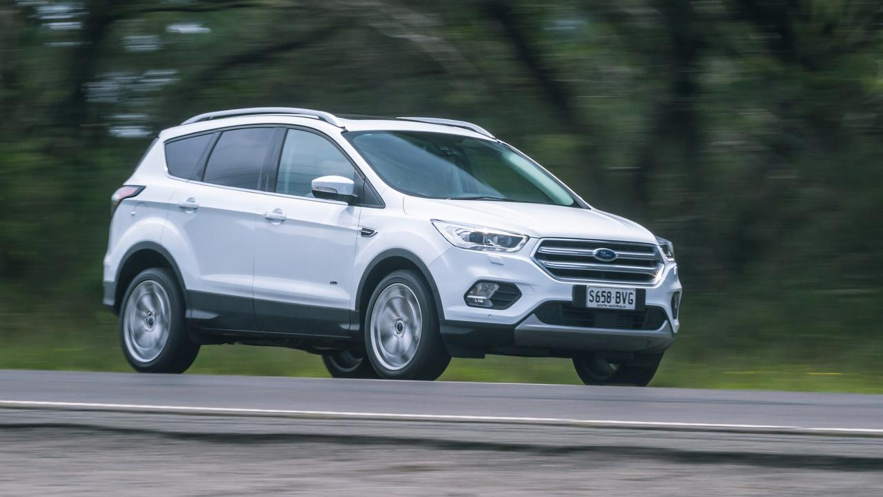 There are sharp run-out deals on the Ford Escape. Thomas Wielecki