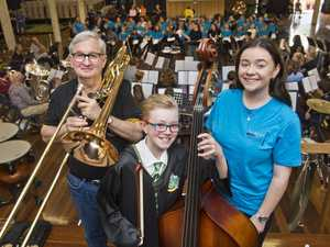 Three music groups come together for enchanted concert