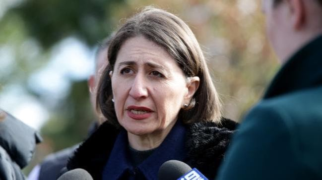 NSW Premier Gladys Berejiklian said mistakes were made in the handling of the case. Picture: Jonathan Ng Source: News Corp Australia