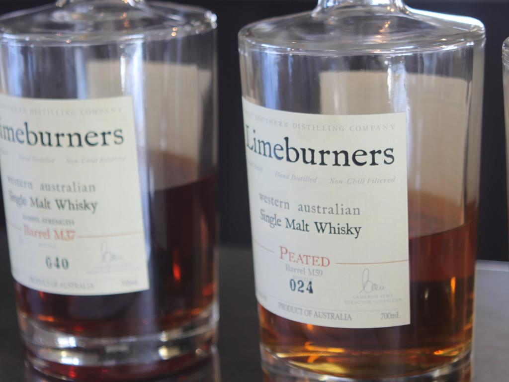 Limeburners Heavy Peat whisky, $139.50 per 30ml Picture: Supplied.