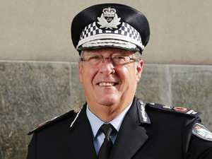 Top cop's shock call before he bails