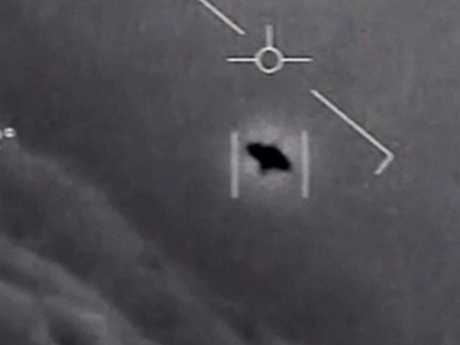Possible UFOs are tracked at speeds of 8000km/hr. Picture: Supplied