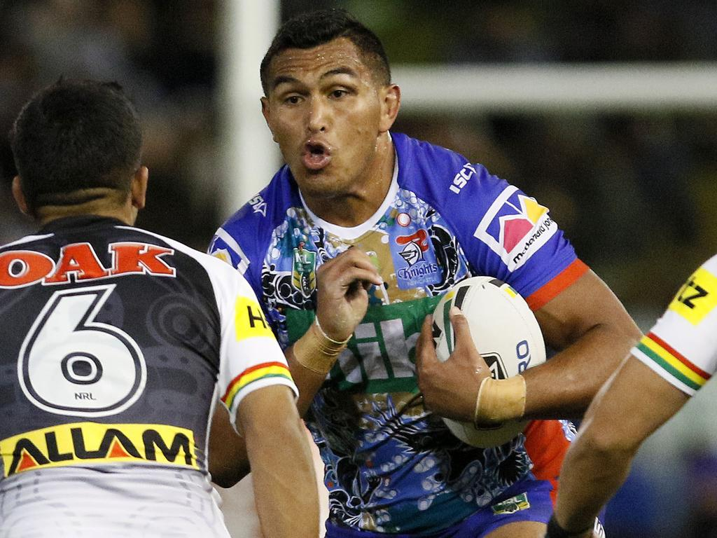 Daniel Saifiti was put forward by injured teammate David Klemmer.