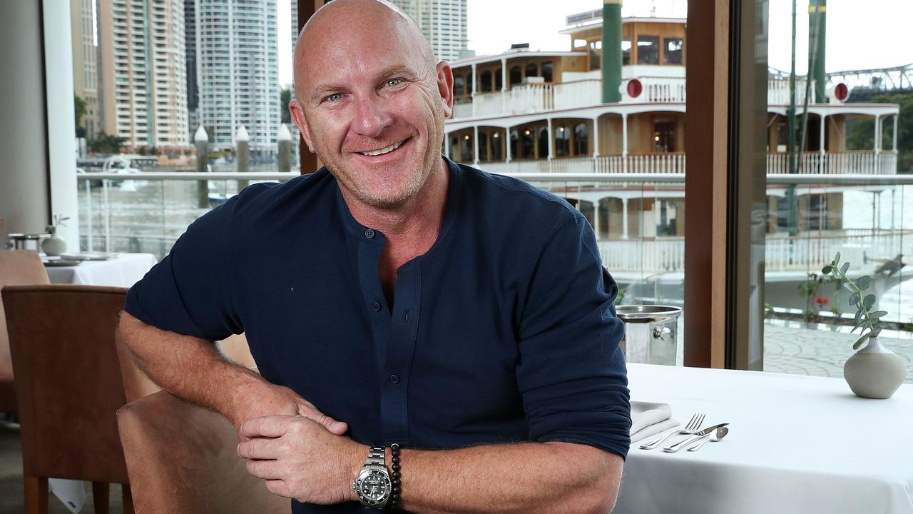Celebrity Chef Matt Moran at his ARIA restaurant, Brisbane. Photographer: Liam Kidston.