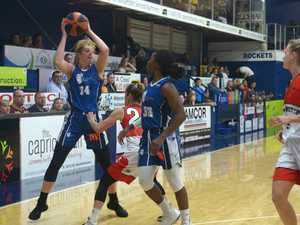 BASKETBALL: Rockhampton Cyclones' Mary Goulding with