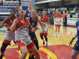 BASKETBALL: Mackay Meteorettes' Milly Disteldorf has