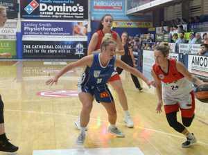 BASKETBALL: Mackay Meteorettes' Heidi Freeburn with