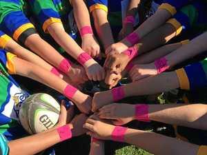 Team mates back sport star battling meningitis