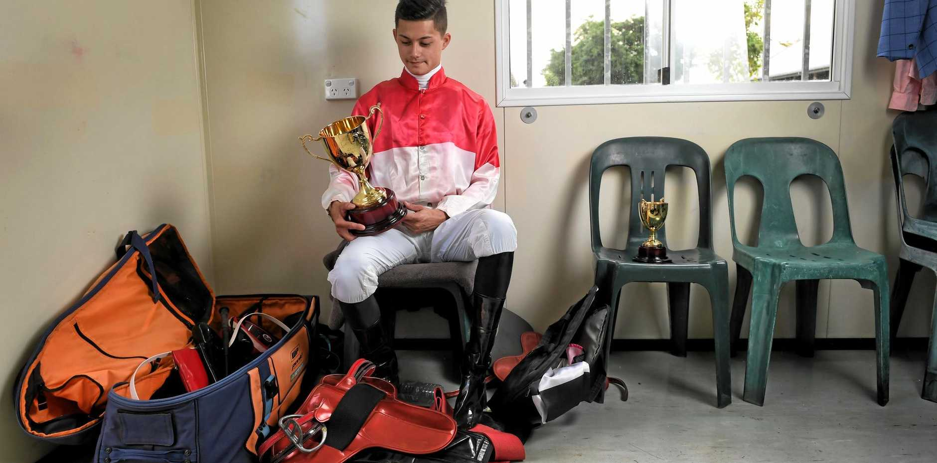 Rising apprentice jockey Michael Murphy reflects on his first Ipswich Cup win after riding Bergerac to victory following a rough period in his career.