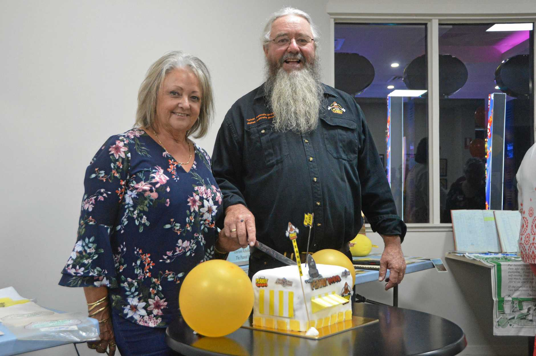 MILESTONE: Chris and Rob Patch celebrate 50 years of the Kingaroy Peanut Van.