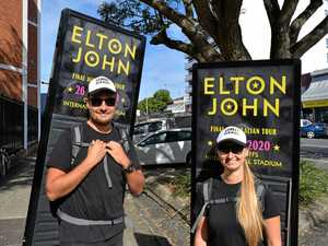 Coffs Harbour has a serious case of Elton fever