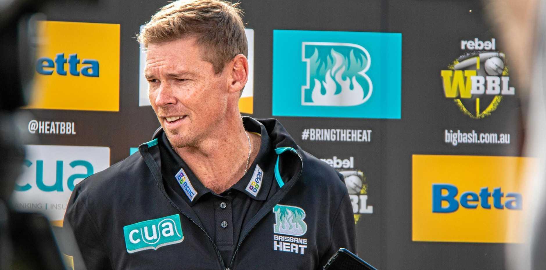 WBBL championship Brisbane Heat has appointed Sunshine Coast's Ashley Noffke as its coach