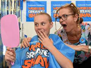 SPECIAL BOND: Why mum and daughter both shaved their heads