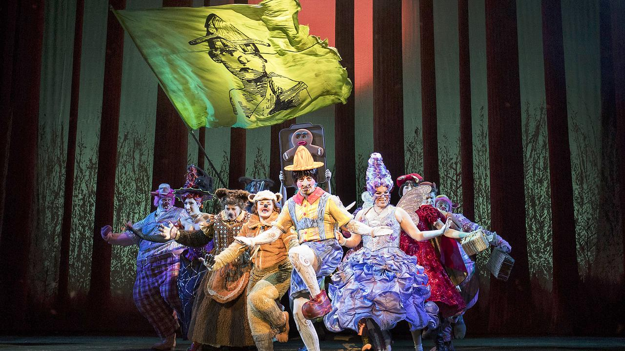 Shrek The Musical is coming to Australia. Picture: Helen Maybanks
