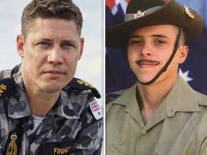 Military heroes in fight of their lives