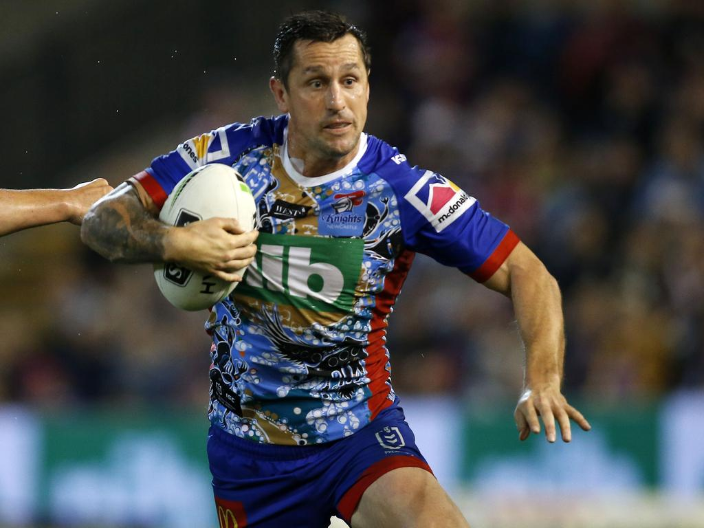 Mitchell Pearce is back for the Blues. Picture: AAP Image/Darren Pateman