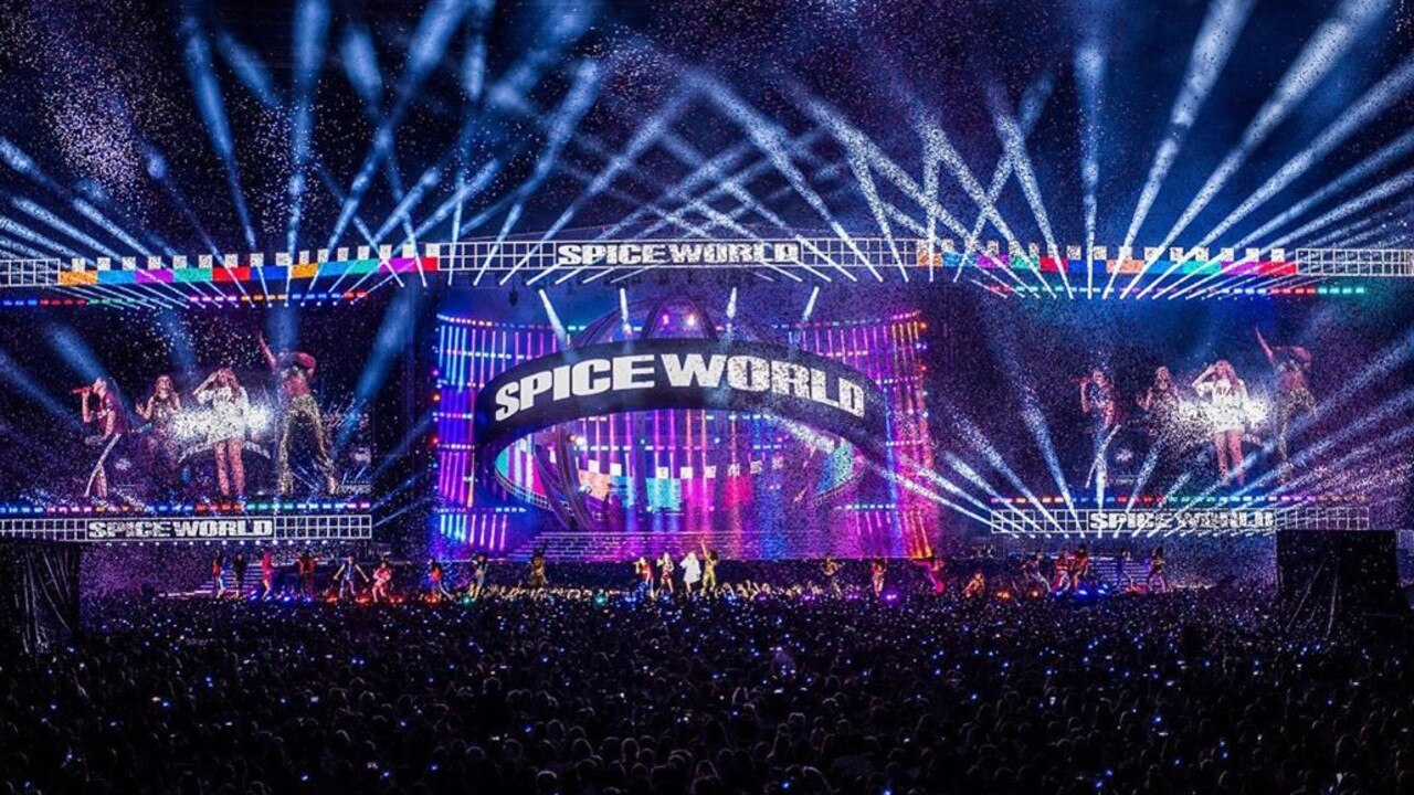 The Spice Girls have wrapped up their UK tour. Picture: Instagram/timmsy